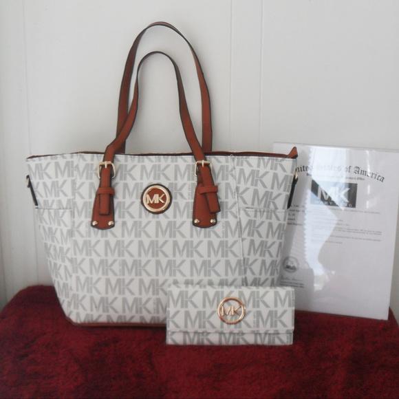 72b8ce5578 Designer Mary King Large Tote Bag   Wallet Set
